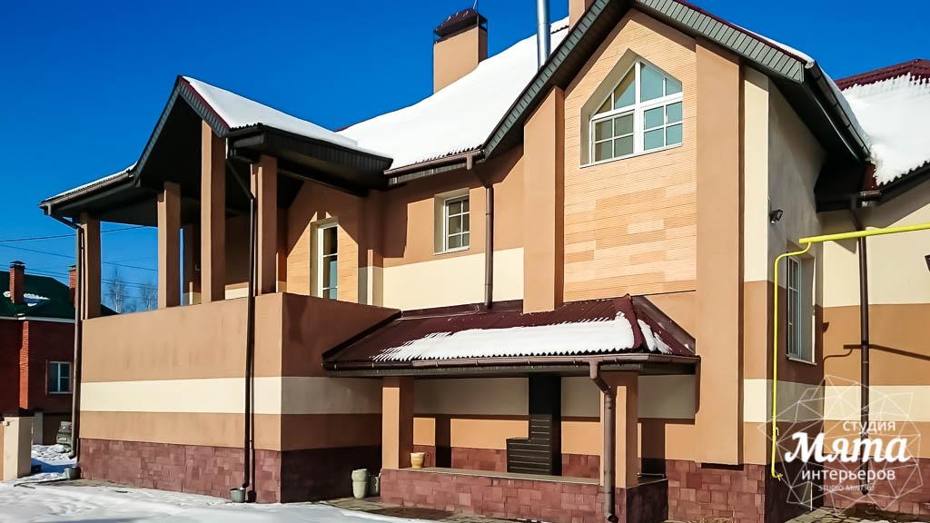 Дизайн проект фасада дома 215 м2 в п. Санаторный 15