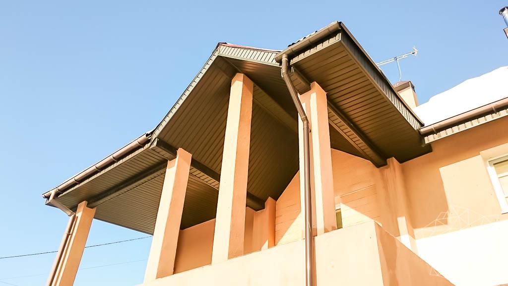 Дизайн проект фасада дома 215 м2 в п. Санаторный 17