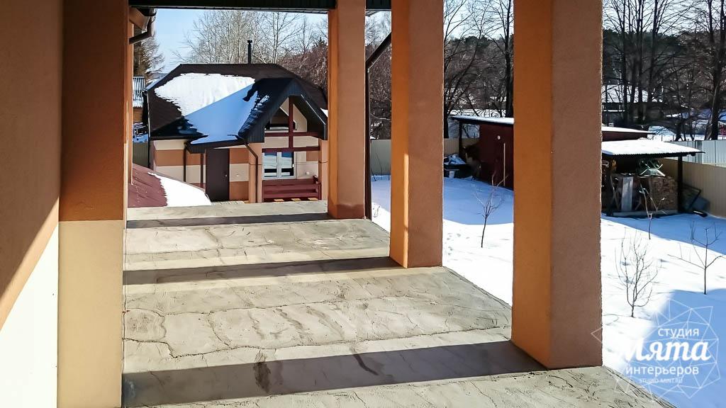 Дизайн проект фасада дома 215 м2 в п. Санаторный 25