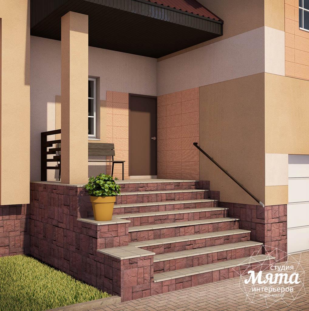 Дизайн проект фасада дома 215 м2 в п. Санаторный img341186334
