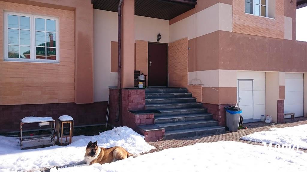 Дизайн проект фасада дома 215 м2 в п. Санаторный 27