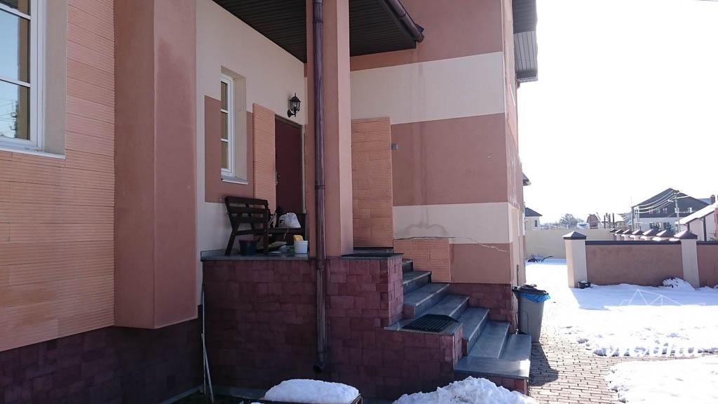 Дизайн проект фасада дома 215 м2 в п. Санаторный 28