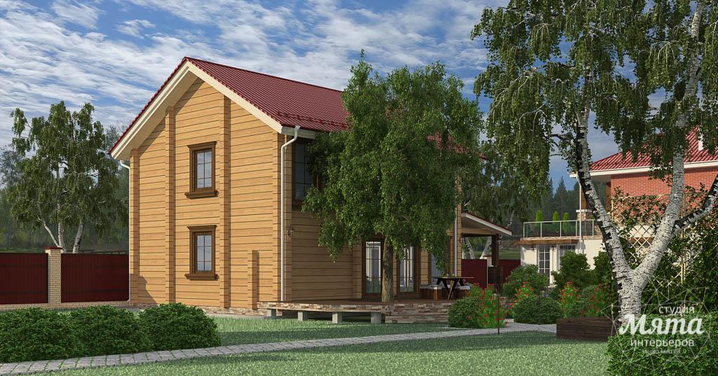 Дизайн фасада дома 532 м2 и бани 152 м2 г. Арамиль img1844872960