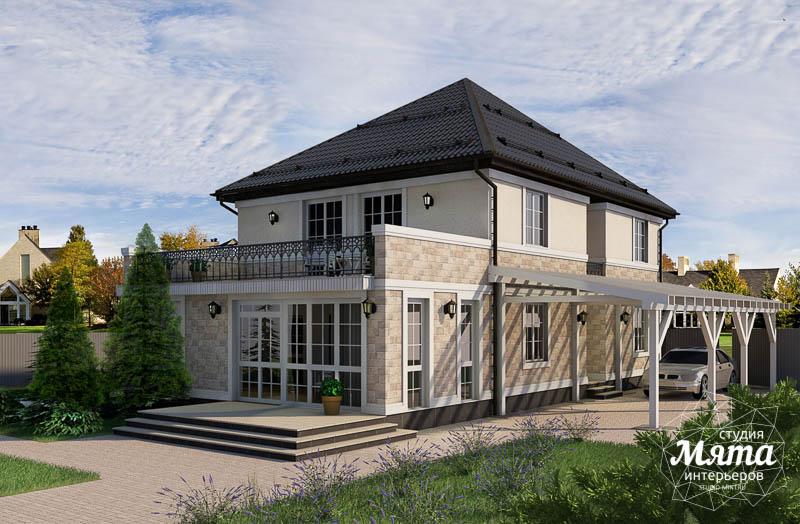 Дизайн фасада коттеджа 200 м2 в г. Тюмень img1674898030