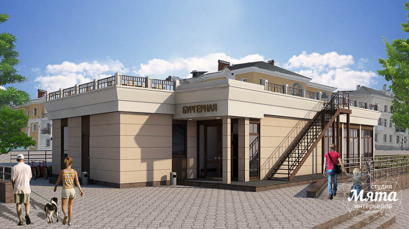 Дизайн фасада кафе 180 м2 на набережной г. Краснотурьинск img11027940