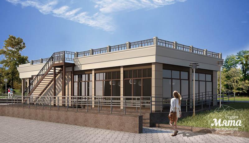 Дизайн фасада кафе 180 м2 на набережной г. Краснотурьинск img2090425178
