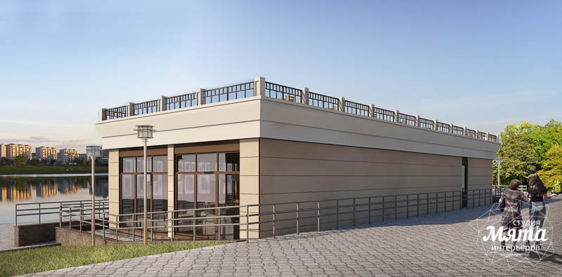 Дизайн фасада кафе 180 м2 на набережной г. Краснотурьинск img942506200