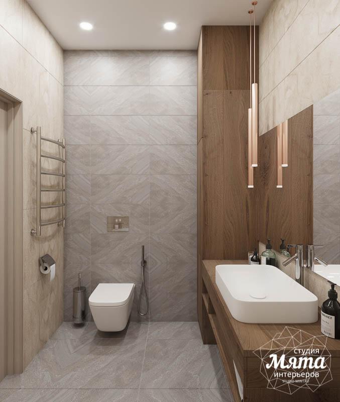 Дизайн интерьера ванных комнат двухуровневой квартиры в ЖК Современник img1690257364