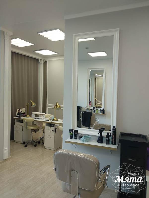 Дизайн интерьера и ремонт салона красоты в ЖК Флагман 20