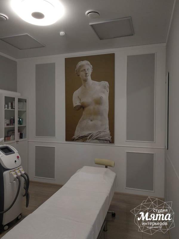 Дизайн интерьера и ремонт салона красоты в ЖК Флагман 23
