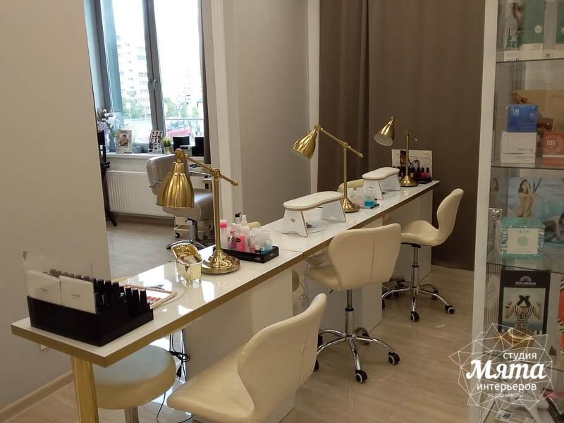 Дизайн интерьера и ремонт салона красоты в ЖК Флагман 25