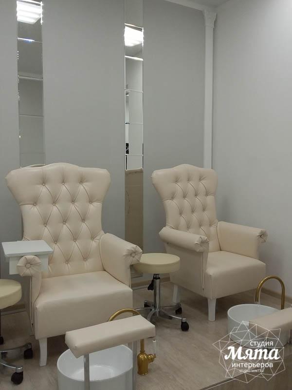 Дизайн интерьера и ремонт салона красоты в ЖК Флагман 10