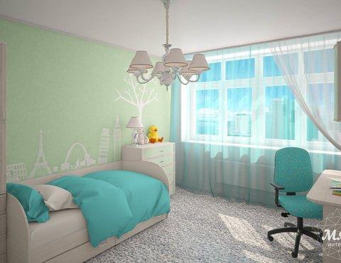 Дизайн интерьера  и ремонт трехкомнатной квартиры по ул. Машинная 44